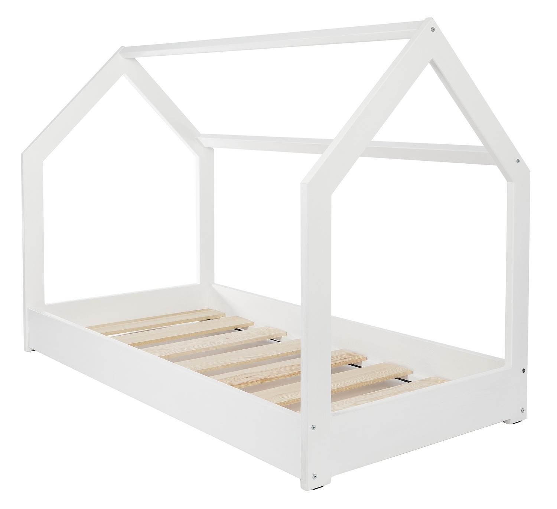 Construction Cabane Enfant avec lit maison 2 en 1, chambre d'enfant, construction cabane, bois
